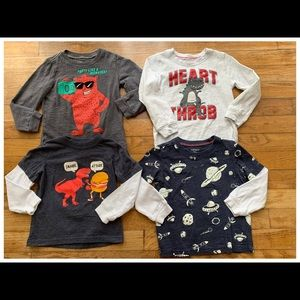 Baby Boy Long Sleeve Shirts